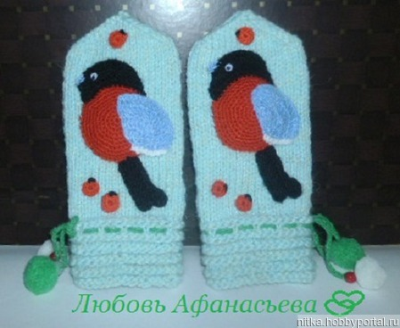 """ВидеоМК """"Снегирь 1"""" ручной работы на заказ"""