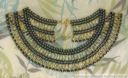 """Ожерелье """"Египетское"""" ручной работы на заказ"""