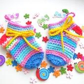 Носочки на малыша 0-3 месяца