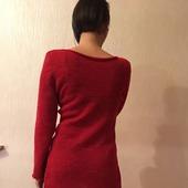 Пуловер с удлинённой спинкой