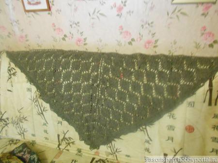 Шерстяной платок ручной работы на заказ