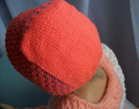 Бесшовный чепчик для новорожденных ручной работы на заказ