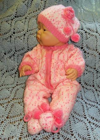 Комплект для новорожденного Розовые мечты ручной работы на заказ