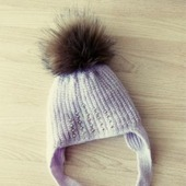 Детская шапка на холодную весну/осень