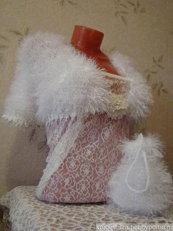 Болеро для невесты ручной работы на заказ