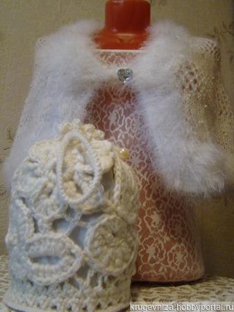 Накидка для невесты ручной работы на заказ