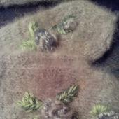 Варежки из собачей шерсти