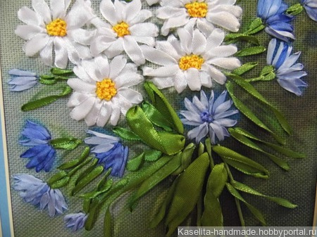 Полевые цветы ручной работы на заказ