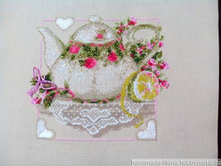 Чай с лимоном ручной работы на заказ