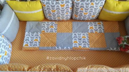 Детское стеганое одеялко ручной работы на заказ