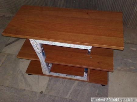 Столик для компьютера ручной работы на заказ