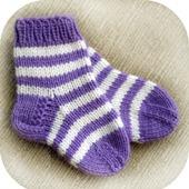 Детские полосатые носочки