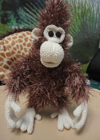 МК по изготовлению обезьянки ручной работы на заказ