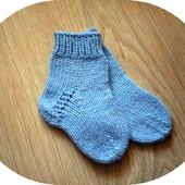 Голубые носочки