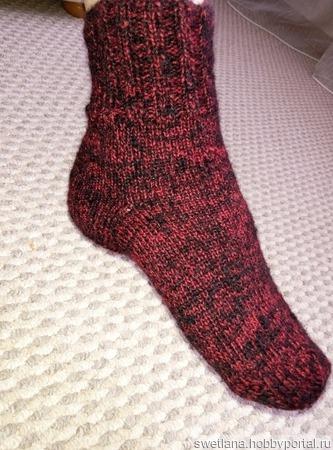 Теплые носочки ручной работы на заказ