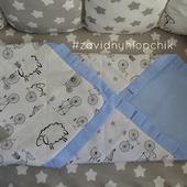 Детское лоскутное одеялко