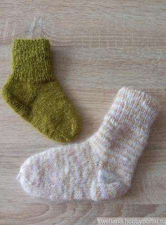 Носочки детские ручной работы на заказ