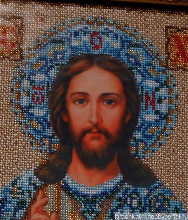 Икона Господь Иисус Христос ручной работы на заказ