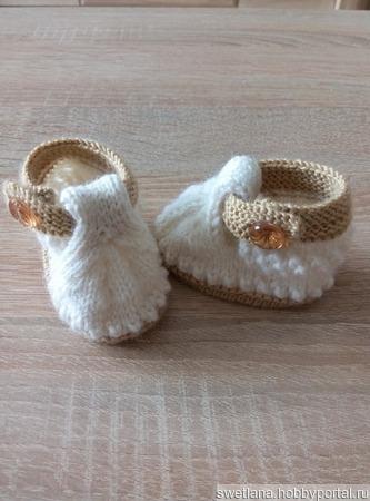 Пинетки—сандалики ручной работы на заказ