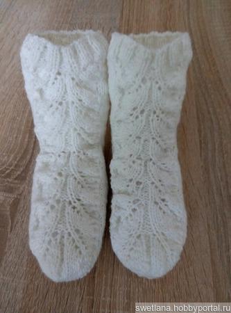 Ажурные носочки ручной работы на заказ