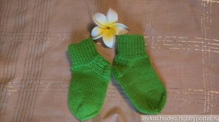 Носочки для малышей ручной работы на заказ