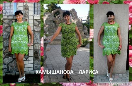 """Платье """"Лесная фея"""" ручной работы на заказ"""