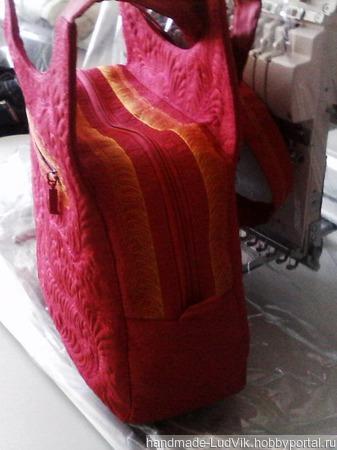 Сумочка с Художественной стежкой Handmade ручной работы на заказ