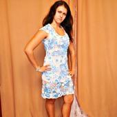 """Платье """"Голубая бирюза"""""""