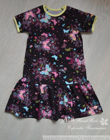 """Платье """"Бабочка"""" ручной работы на заказ"""
