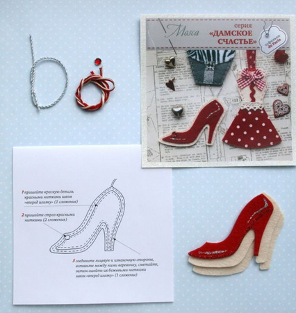 Туфелька de Paris ручной работы на заказ