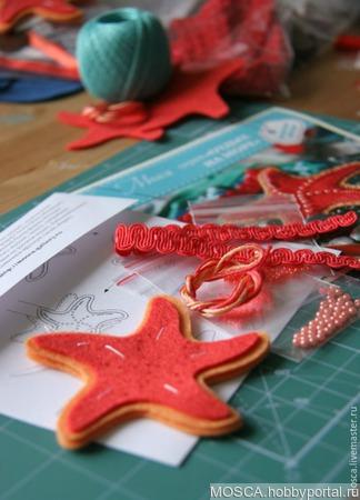 Морская звезда ручной работы на заказ