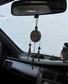 Бубен (подвес в авто) ручной работы на заказ
