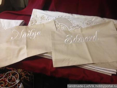 """Постельное белье """"Медовый месяц"""" ручной работы на заказ"""