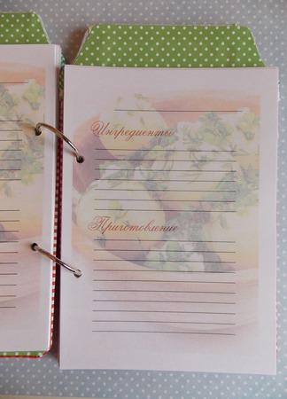 """Кулинарная книга """"Банка грушевого варенья"""" ручной работы на заказ"""