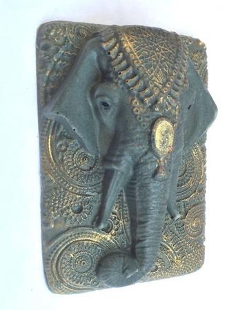 """Мыло """"Слон"""" с голубой глиной ручной работы на заказ"""