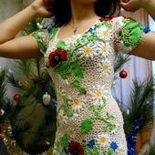 """Платье """"Цветочная поляна"""""""