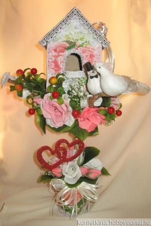 Птичий домик ручной работы на заказ