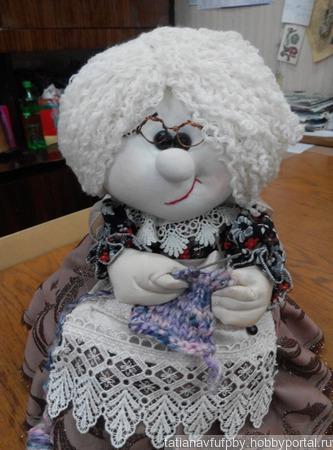 Кукла грелка на чайник ручной работы на заказ