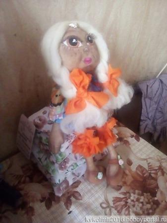 Девчушечка-домовушечка ручной работы на заказ