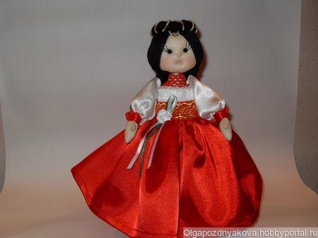 "Кукла ""Софья"" ручной работы на заказ"