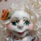 Лили - кукла грелка на чайник