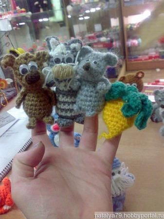 Пальчиковые игрушки ручной работы на заказ