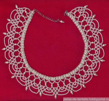 Ожерелье-воротник ручной работы на заказ