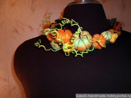 """Ободок """"Осенний"""" ручной работы на заказ"""