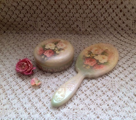 Набор Винтажные розы ручной работы на заказ