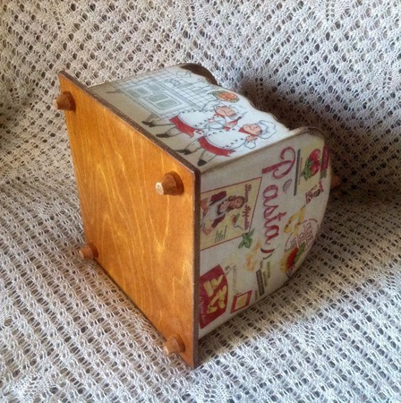 Короб для специй ручной работы на заказ