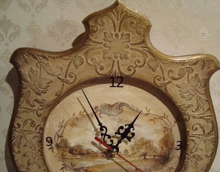 Часы для дома ручной работы на заказ