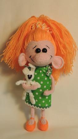Кукла Носатик ручной работы на заказ
