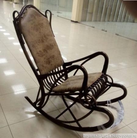 Кресло-качалка Романтика ручной работы на заказ