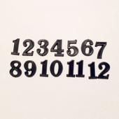 Накладные цифры  4101, 15 мм